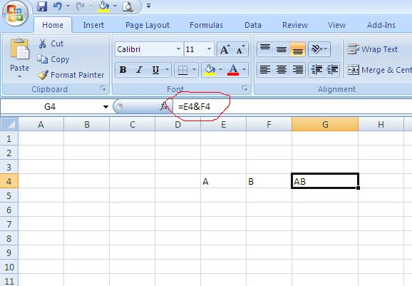 How to combine multiple cells in excel without losing data